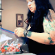 A plump woman with tattoos eats some candy laced with laxatives. She later heads to the bathroom with explosive diarrhea that comes in several waves while sitting on a toilet. Presented in 720P HD. 144MB, MP4 file. About 6.5 minutes.