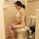 This is the first pooping video ever offered by Lola Rae. It features a nice angle with her perfect, erect posture. She is made-up and hot-looking. Subtle pooping sounds are heard. No product shown. Presented in 720P HD. About 4 minutes.