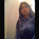A hidden camera captures a beautiful Hispanic girl as she pisses, shits into a toilet, then wipes repeatedly. This is a real voyeur clip, but the girl looks right into the lens of the camera not knowing it is there. Vertical format video. About 2 minutes.