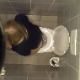 A daring cameraman was lucky enough to catch this unsuspecting blonde woman taking a shit and then wiping her ass in a public restroom. Dirty toilet paper is seen during the wipe, and finished product partially visible under toilet paper. Over 2 minutes.