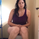 A plump girl records herself shitting and pissing from a between the legs perspective. She wipes her ass from the front and shows the finished product. Presented in 720P HD. About 3.5 minutes.