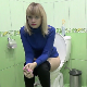 A pretty, blonde girl takes a shit and a piss while sitting on a toilet. Many audible plops are heard. She complains about the smell. This is a very nice, natural EFRO video. Presented in 720P HD. About 4 minutes.