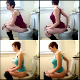 An attractive girl with short hair shits while sitting on a toilet in multiple scenes. About 29 minutes. 341MB, MP4 file requires high-speed Internet.