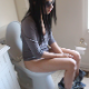 Magdalena shows her face, pees, and takes a noisy, crackling, gassy shit while sitting on a toilet. She comments on the smell, wipes her ass, and gives us a detailed look at her soft poop in the toilet bowl. Presented in 720P HD quality video.