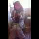 An attractive, American girl of middle-eastern descent is reluctantly recorded by her girlfriend as she takes a shit sitting on a toilet. We could not hear the pooping sound, but the laughter implies that they did.