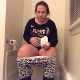 A big-bottomed, mature woman rubs her belly while taking a massive dump into a toilet. She shows us the product, flushes, and clogs the toilet. She stands up to wipe her ass. Presented in 720P HD. 142MB, MP4 file. Over 6 minutes.