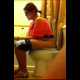 During the course of a normal bathroom conversation, a girl secretly records her friend on the toilet and captures a great, wet-sounding fart. No pooping sounds.