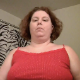 An obese, mature woman records herself pissing and taking a soft, runny shit while sitting on a toilet. No product is shown. Presented in 720P HD. About 4 minutes.