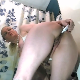 A blonde, American girl gives herself what appears to be a small enema, then shits in her panties with poop overflowing out onto the floor. She sits on the shit pile and makes an even worse mess of her ass. 720P HD. 195MB, MP4 file. Over 10.5 minutes.