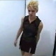A blonde girl walks into a bathroom, only to discover that the commode is missing. Undeterred, she proceeds to take a big shit on the bathroom floor. Over 8 minutes.