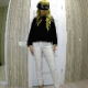 A masked, blonde woman takes a shit on the face of a masked man, then mashes the shit down with her bare ass. Presented in 720P HD. 294MB, MP4 file. Over 13.5 minutes.