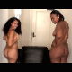 Two pretty black girls take turns shitting on plates. Each girl helps wipe the ass of the other girl, and they proudly pose with their finished products. Over 9 minutes.
