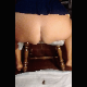 This exclusive, original content video posted by one of our users features his wife, Trina, as she takes a semi-soft shit off of the side of a wooden chair. Presented in 720P vertical HD format. Over a minute.