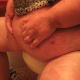 One of our users records his large wife shitting 6 times - including into a toilet. If you want to see a really big woman and soft, sloppy, wet shit with great audio, this video clip is for you!