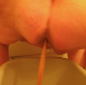 One of our users records his large wife shitting into a plastic container. If you want to see a really big woman and soft, sloppy, wet shit with great audio, this video clip is for you!