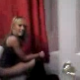 A guy breaks into a bathroom to reveal a blonde girl sitting on a toilet. She gets off of the toilet to stop him, revealing her large turd in the toilet bowl! Nice, but a low-resolution cell phone video, unfortunately.