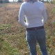 An attractive blonde woman takes a small shit on the ground. Video is slightly flawed, but does not really affect the part you can see.