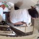 Our beautiful, plump, Eastern-European girl tries a new overhead camera angle as she farts and shits while sitting on a toilet. Nice plops. Dirty TP is visible while wiping. Presented in 720P HD. About 4 minutes.