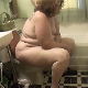In this series, a couple of older, fat girls record themselves taking a shit while sitting on a toilet. Pissing and very subtle plop heard. She fishes the turd out of the toilet bowl when finished for a better view. Bigger than expected. Over 4 minutes.
