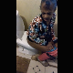 A homely, older black woman is recorded taking a piss and a nice-sized shit into a toilet. Poop action is visible. Product and wiping is also shown. Audio is somewhat compressed. About 7 minutes.