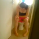 This very brief video allows us to clearly hear a nice plop as a British girl shits while sitting on a toilet. She quickly closes the door after realizing that she is being recorded on camera.