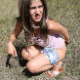 An attractive, Bulgarian girl farts and sharts loudly and repeatedly in the grass at an outdoor location. There appears to be no pooping in this clip. Presented in 720P HD. 109MB, MP4 file. About 3 minutes.