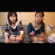 Two Japanese girls eat pancakes before taking turns shitting their meals out for the camera. Some pissing, too. The first girl takes a small shit, but the second girl has a massive dump. Presented in 720P HD. 448MB, MP4 file. About 24 minutes.