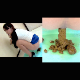 3 pretty Japanese girls take turns peeing & pooping on the floor in a multi-angle presentation. Finished products of each girl are clearly shown, as well as the reaction of the girl when she sees her own turd pile. 720P HD. 377MB. Over 25.5 minutes.