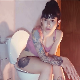 A beautiful, Eastern-European girl with tattoos sits on a toilet. Music plays in the background as she pisses and struggles to shit. A constipation clip with a great view, but no pooping sounds. 720P HD. 126MB, MP4 file. About 11 minutes.