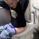 A young-looking girl records herself pissing in the public restroom at a K-Mart department store. She also does pooping videos found elsewhere on this site. Presented in 720P HD. Over 2 minutes.