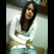 A girl from Chile is video-recorded taking a shit while sitting on a toilet. She wipes herself, shows us her dirty toilet paper, and shows us the contents of the toilet bowl. Video quality is rather poor, so details are difficult to see and hear.