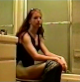 A joint production from GirlsPooping.Com and CollegeGirlsPooping.Com back in the days before CollegeGirlsPooping was an individual website! Amy takes a shit while sitting on a toilet and shows us her finished product. Over 6 minutes.