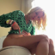 A pretty, blonde, Eastern-European girl takes a shit while sitting on a toilet. Many plops and some crackling is heard with some pissing and farting. She gives us the thumps up when done and stands up to wipe her ass. 720P HD. Over 4 minutes.
