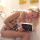 A pretty, blonde Eastern-European girl reads a book while shitting into a toilet. Many nice, loud, deep plops are heard followed by some pissing and wet farts. This video gets right to the point with no B.S. to waste your time. 720P HD. About 3.5 minutes.