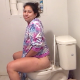 A plump, tattooed, cute Latina girl farts for the camera, pisses and takes a shit while sitting on a toilet in 6 scenes. She speaks to the camera and tells us what she ate. Subtle, but not loud pooping sounds. 720P HD. 166MB, MP4 file. Over 14.5 minutes.