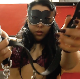 You are a puppy dog belonging to the beautiful, Italian masked pooper, Mistress Gaia. She puts on your collar and chain, then shits into your food dish for your daily meal. Eat up! Presented in 720P HD. Exactly 5 minutes.