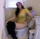 Here is a rare sight for sore eyes! Rachelle finally takes a shit naturally while sitting on a toilet. She wipes her ass and shows us the product. There really is indoor plumping at her place. 720P HD. 169MB, MP4 file. About 10.5 minutes.