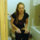 A red-headed woman has a wet-sounding bowel movement and pees while sitting on a toilet. She sits there for a while pushing out more soft shit while looking at her cell phone. Presented in 720P HD. 150MB, MP4 file. Over 9 minutes.