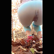 A girl sharted in her running tights during her morning jog. She decides to just go ahead and finish the dump in her pants on camera, creating a nice, dark bulge. She pulls down her pants to show off her load. Vertical format video. About 3 minutes.