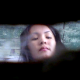 In this voyeur clip, an Asian woman is observed from below a Russian outhouse while taking a huge shit and wiping herself.