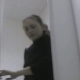 An Eastern-European bowlcam video production featuring a woman peeing into a public floor toilet. The Russians and Japanese both use floor toilets, unlike the West.