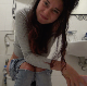A pretty, dark-haired Italian girl farts and takes a shit while sitting on a toilet. Nice crackling and plops are heard. She wipes her ass and shows us the dirty TP. Presented in 720P HD. Over 6 minutes.