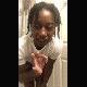 A black girl tells us how bad she has to poop, takes off her clothes and shows us a turd peeking out of her ass. Video contains many defects and ends before we get to see the real action. Presented in 720P vertical HD format. About 4 minutes.