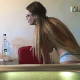 Josslyn from Romania records herself pissing and taking a hard, wide shit into her own kitchen sink in this close & nasty video. Presented in 720P HD. 3.5 minutes.
