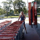 A mature, blonde, German woman takes a piss and shit in front of a grocery store and in full public view. See movie 12203 for more. Presented in 720P HD. About 2 minutes.