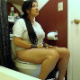A lesbian woman sits down on a toilet, takes a soft, crackling shit, and pisses. She pushes for a while to try and get more out. She wipes herself when finished. Presented in 720P HD. 128MB, MP4 file. Over 5 minutes.