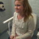 Some girls record their friend pissing while sitting on a hospital toilet. Presented in 720P HD video.