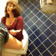 A hidden camera in a bathroom records an attractive woman taking a shit while sitting on a toilet. She wipes both sitting & standing. This is a particularly good voyeur video because we can see her facial expressions with audio. 112MB. About 9.5 minutes.