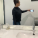 A black girl records herself shitting and pissing while standing in front of a toilet in a public restroom. She wipes her ass and washes her hands when finished. Presented in 720P HD. 110MB, MP4 file. Over 6.5 minutes.