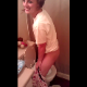 A attractive blonde girl is video-recorded peeing into a toilet while standing like a guy. Amazing talent with no mess!